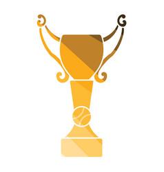 baseball cup icon vector image