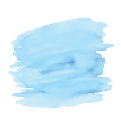 Blue abstract watercolor background vector image