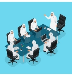 Business meeting concept International Business vector