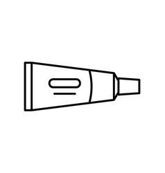 cream tube icon vector image