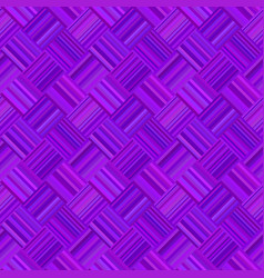 purple abstract repeating diagonal striped square vector image
