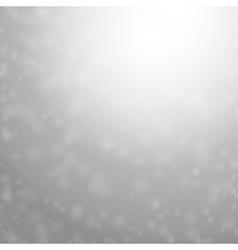 snowing vector image vector image