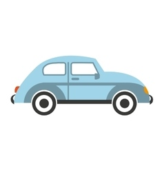 car auto vehicle isolated icon vector image vector image