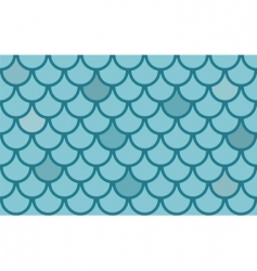 fish scales vector image vector image