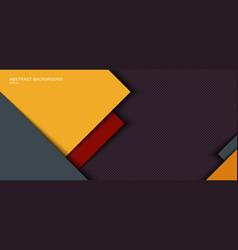 Banner web template design yellow gray square vector