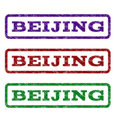 Beijing watermark stamp vector