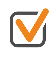 Checkmark tick icon vector