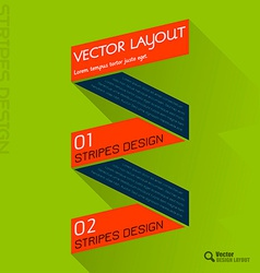 Fresh Colors Ribbon vector image