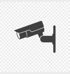 Icon outdoor surveillance cameras vector