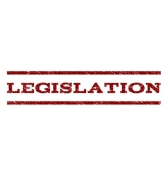 Legislation Watermark Stamp vector image
