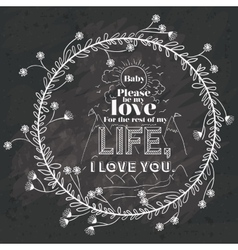 Love message design vector