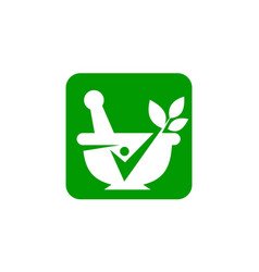 Pharmacy bowl vector