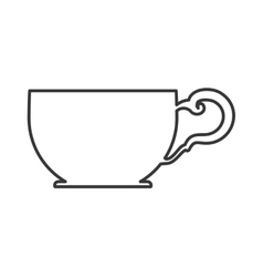 Tea cup icon tea design graphic vector