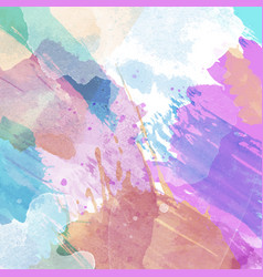 abstract background with a watercolour texture vector image
