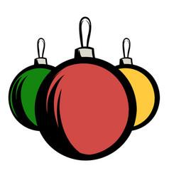 balls icon cartoon vector image