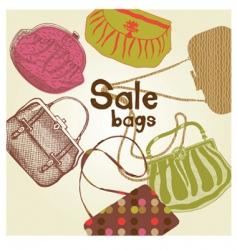 Fashion women bags vector