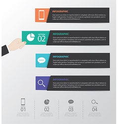 Flat Infographics Template vector