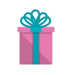 giftbox present isolated icon vector image