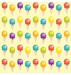 Ice-cream background vector