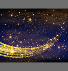 magic space fairy dust infinity abstract vector image