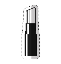 Make-up lipstick isolated icon vector
