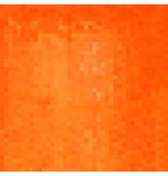pixel backdrop in bright orange vector image