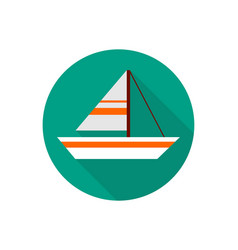 sailboat icon sign symbol vector image