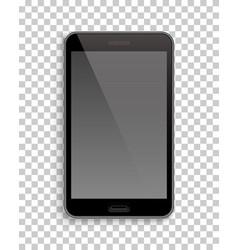 smartphone mockup template transparent background vector image