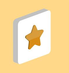 star computer symbol vector image