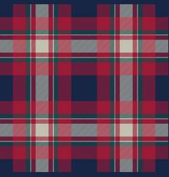 tartan background fabric texture seamless pattern vector image