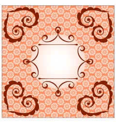 asian style card vector image vector image