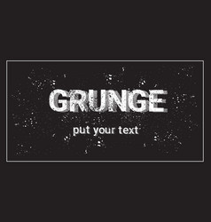 Frame for copy space with grunge textured vector