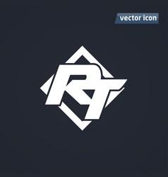 rt icon vector image