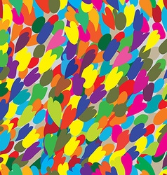 Abstract color seamless graphic pattern modern vector image vector image