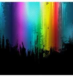 gradient paint splashes background vector image