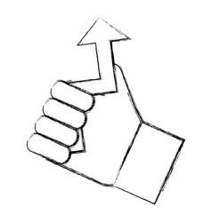 Arrow pointer symbol vector