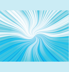 blue curved rays background vector image