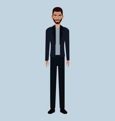 character man member community vector image