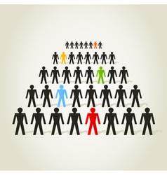 Crowd people vector