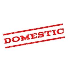 Domestic Watermark Stamp vector