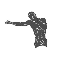 Mixed martial art vector