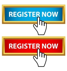 Register now set vector image