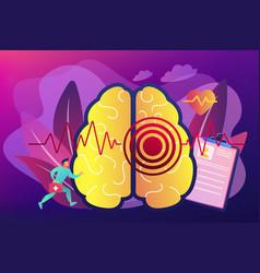 stroke concept vector image