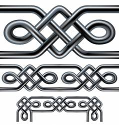 Celtic rope vector image