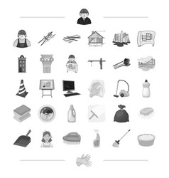 Architecture construction and other web icon in vector