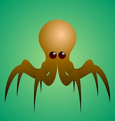 cartoon octopus vector image