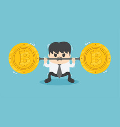 Fall bitcoin vector