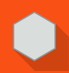 Fastener head iconflat icon vector