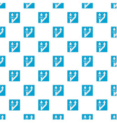 Forty on arrow pattern seamless vector