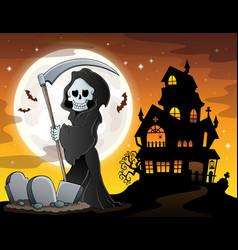 Grim reaper theme image 6 vector